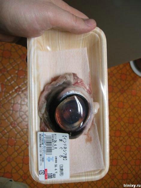 Вкусняшка. Варенный глаз... тунца (6 фото)