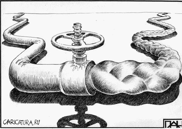 Газовая война в карикатурах (40 фото)