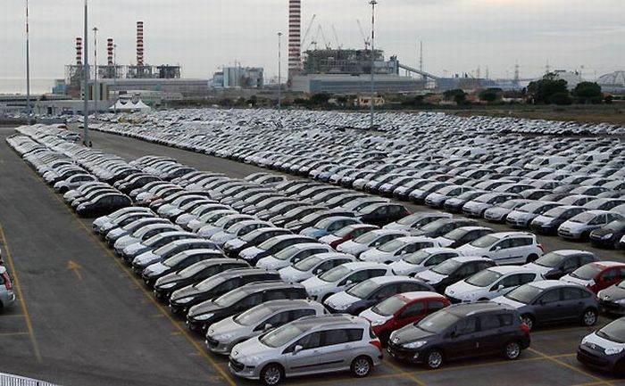 Кризис и машины (10 фото)