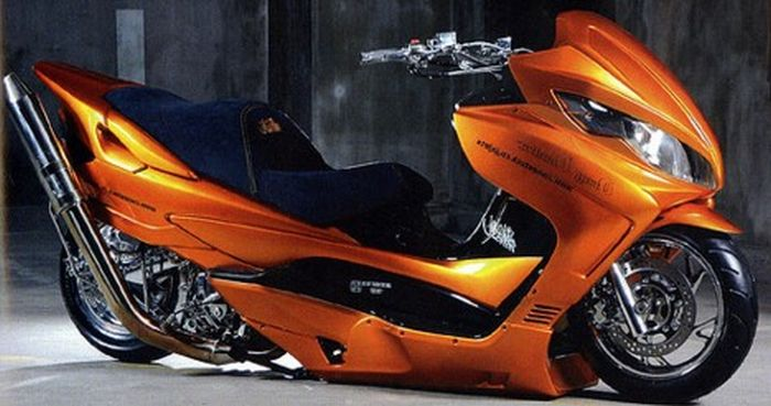 Fotos de motos tuning.