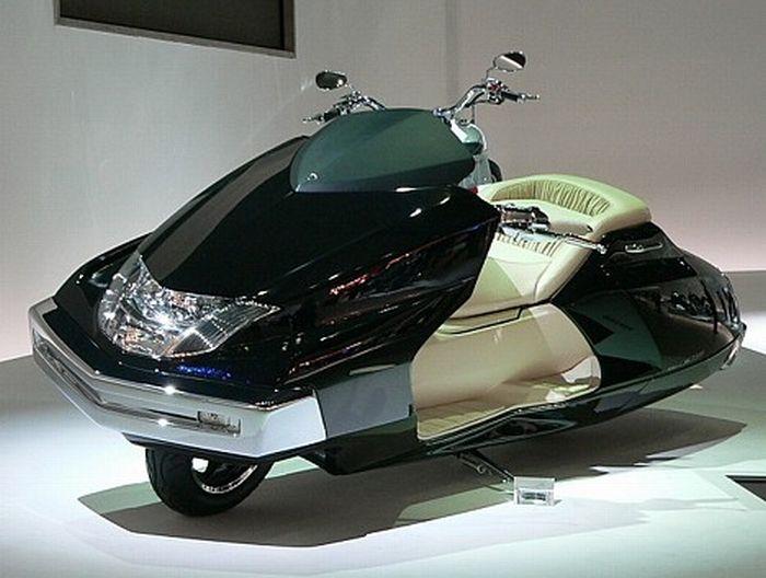 Японские скутеры (17 фото)