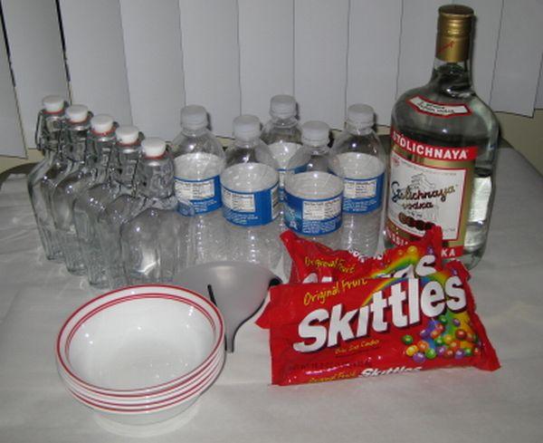 """Вот такой  """"волшебный """" коктейль из водки и конфеток разнообразит любую..."""
