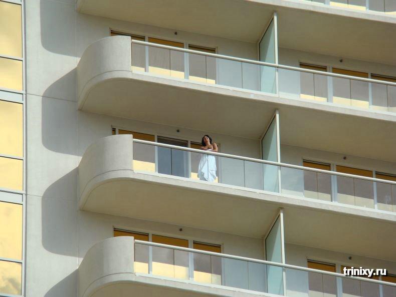 Балконы Лас Вегаса (8 фото) НЮ