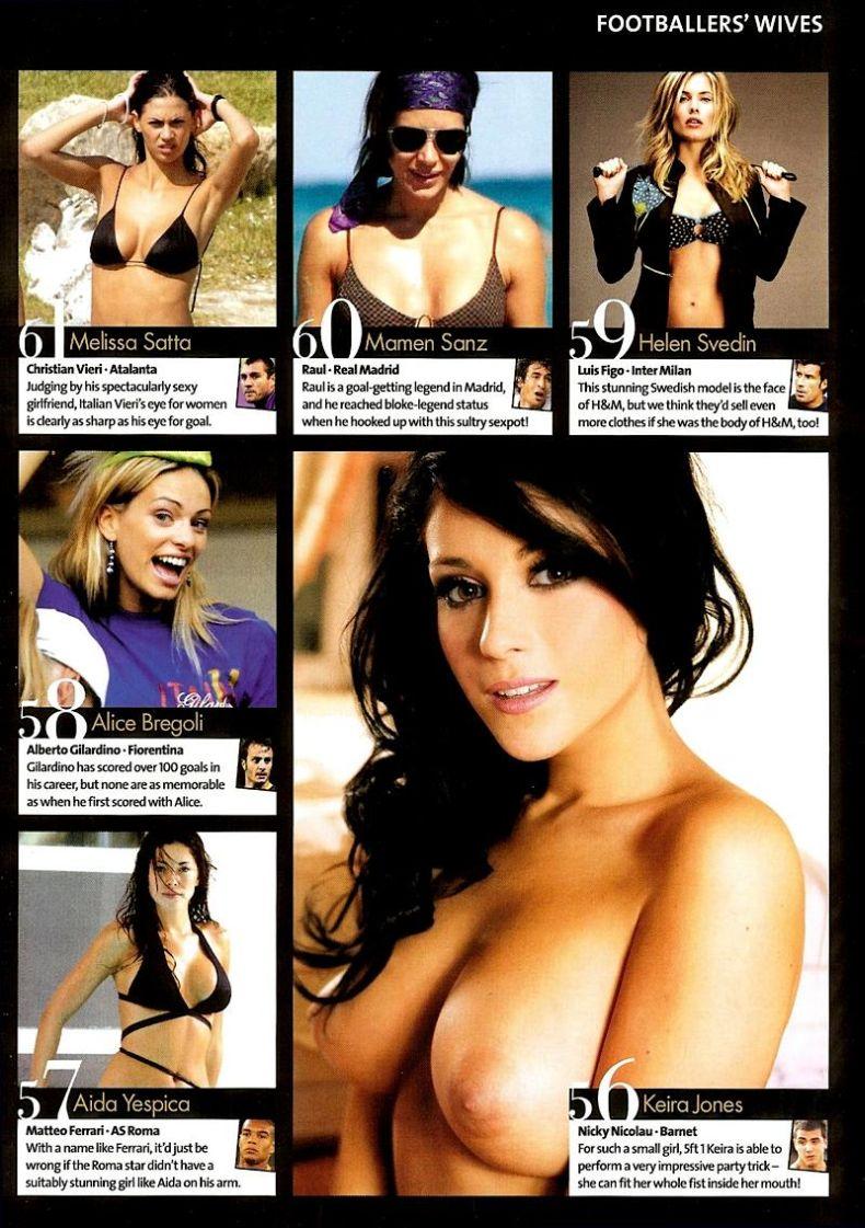 100 самых сексуальных жен футболистов 2009 (14 сканов)