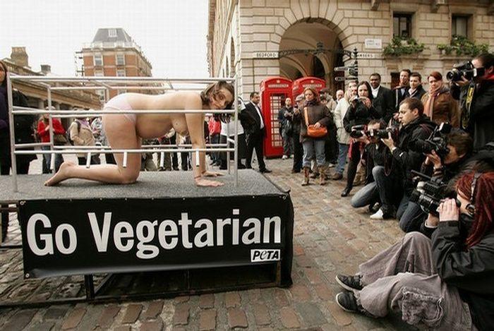 Акция в Лондоне (12 фото) НЮ