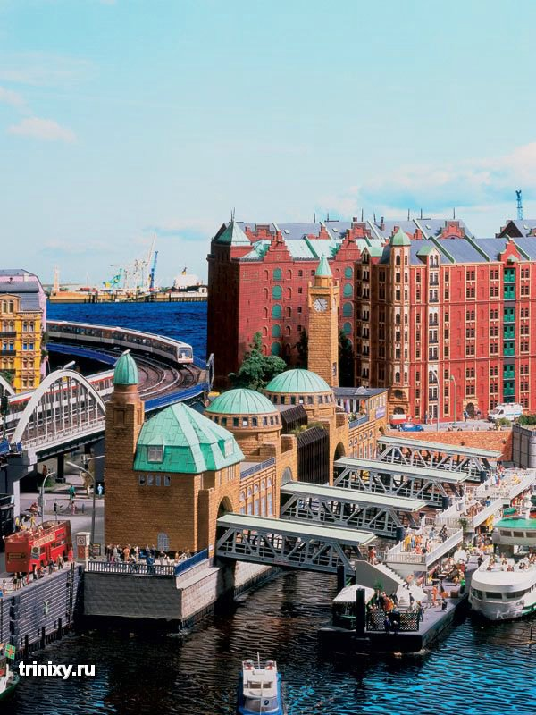 «Миниатюрная Страна чудес» в Гамбурге (100 фото)