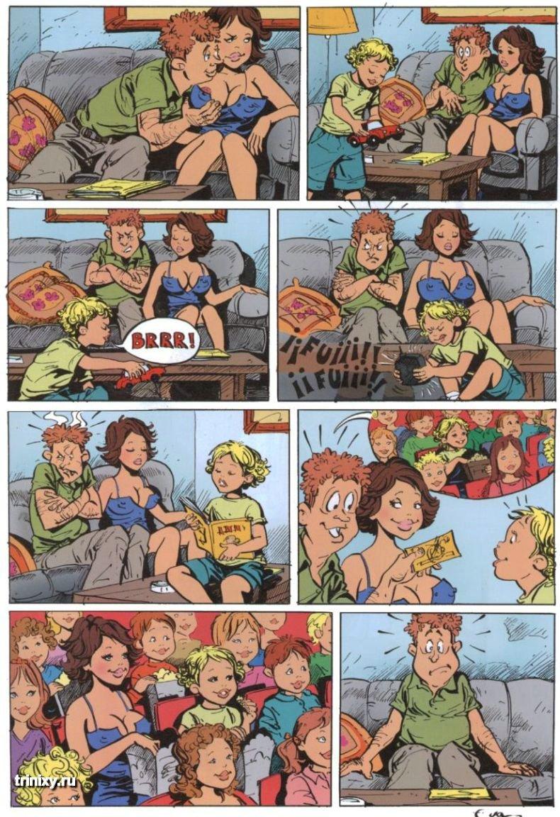 Эротиеские комиксы для взрослых 28 фотография