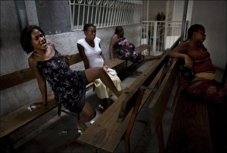Как рожают негритянка, сандра лауэр эротика фото