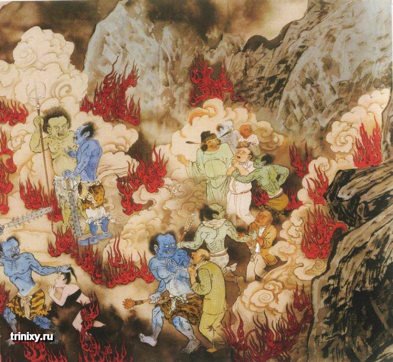 Жесть дня. Буддийский ад (46 картинок) » Триникси