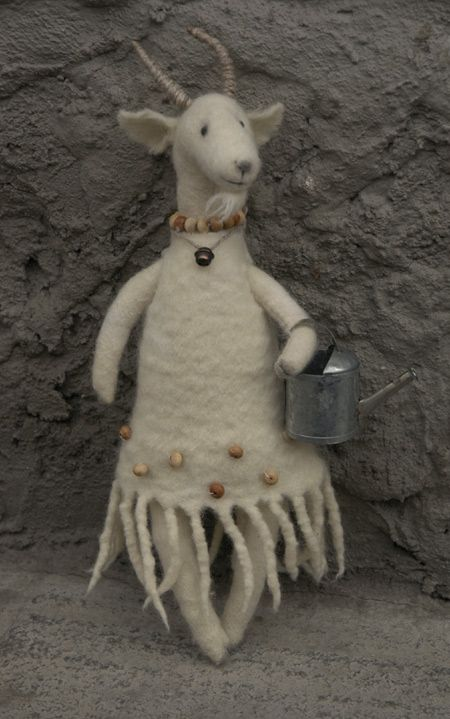 Игрушку козу своими руками