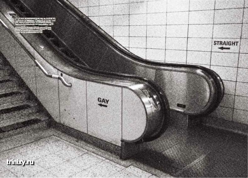 Реклама на эскалаторах (16 фото)