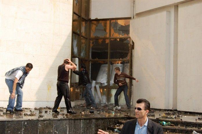 Беспорядки в Молдавии (18 фото + видео)