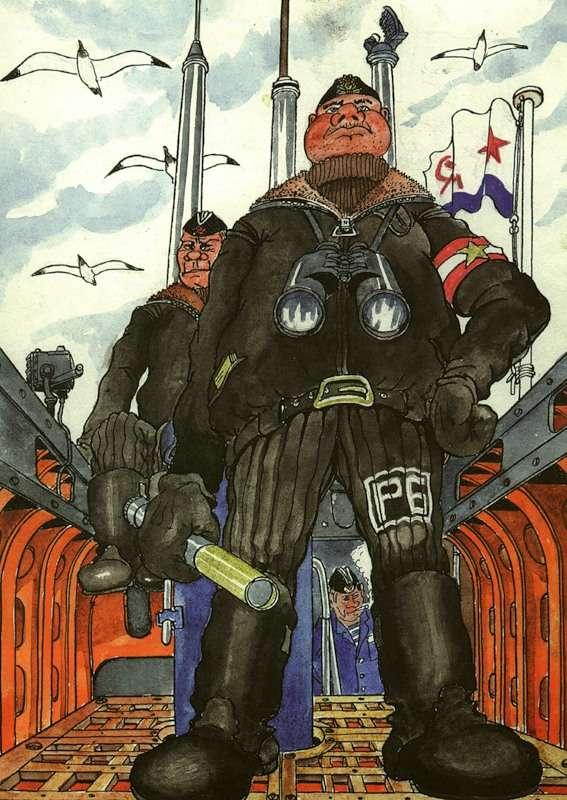Юмор подводников Северного флота (50 картинок)