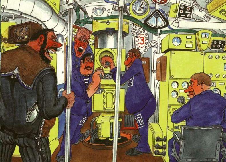 Картинки, смешные картинки подводников