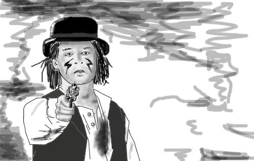 Нарисованные моменты из фильмов (139 картинок)