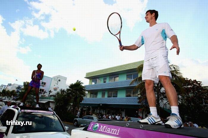 Необычный теннис (28 фото)