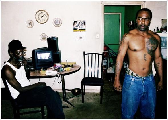 Жизнь в американском гетто (45 фото)