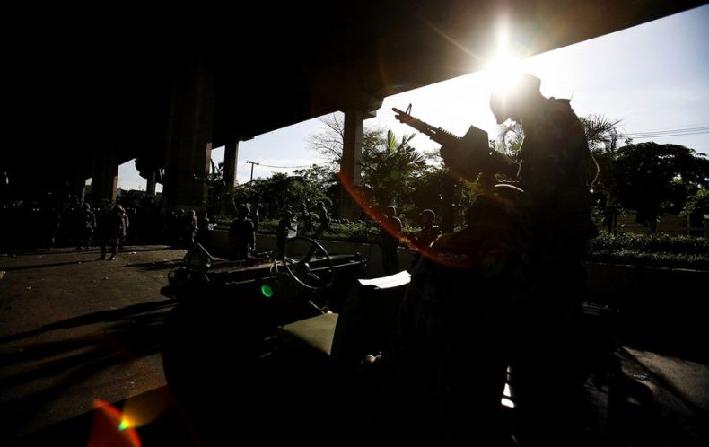 Беспорядки в Таиланде (22 фото)
