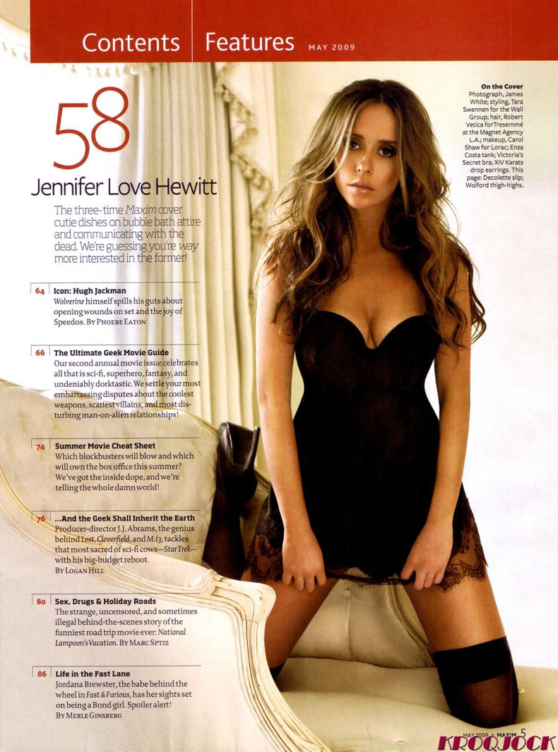 Jennifer Love Hewitt в Maxim (7 Фото)