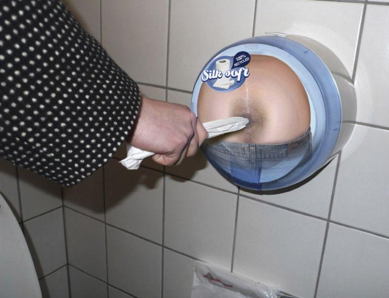 Жесть дня ) Реклама туалетной бумаги (3 фото)