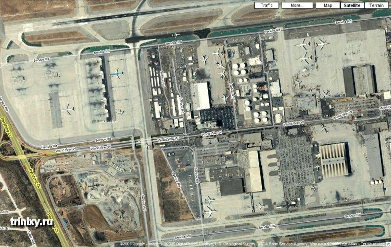 Что это такое в аэропорту Лос Анджелеса (5 фото)