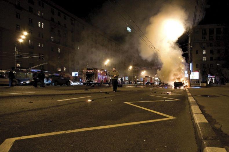 В Москве разбили очередное Lamborghini - Пост 35339 - Фото 1