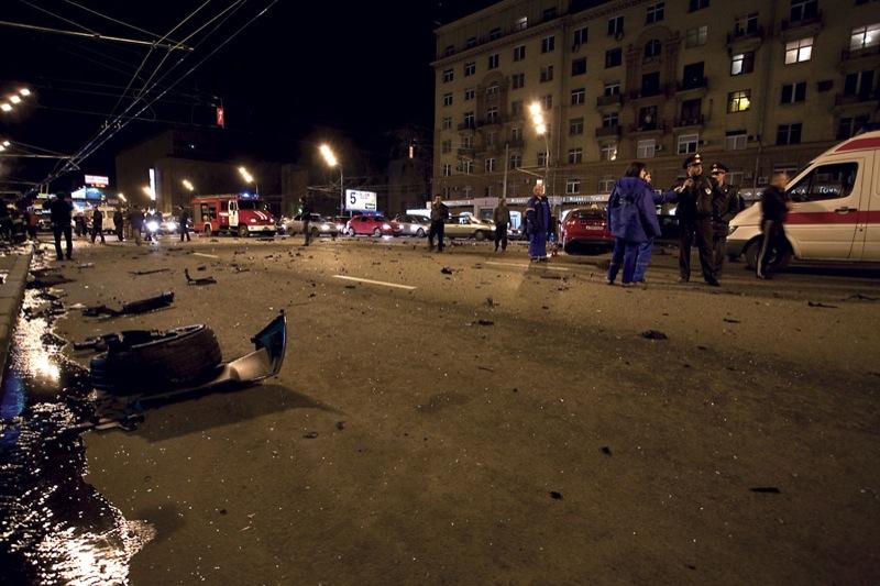 В Москве разбили очередное Lamborghini - Пост 35339 - Фото 4