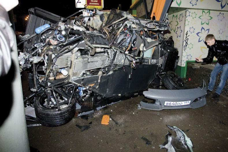В Москве разбили очередное Lamborghini - Пост 35339 - Фото 10