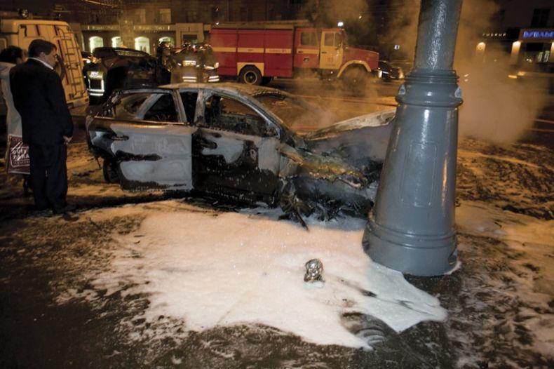 В Москве разбили очередное Lamborghini. Во время секса? (27 фото)