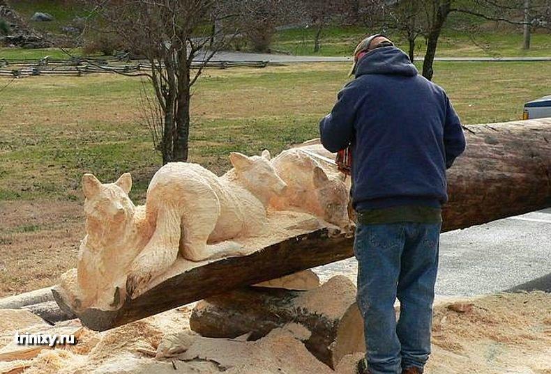 Что такое настоящая резьба по дереву (26 фото)