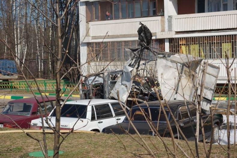 Сгоревшая Газель (11 фото)