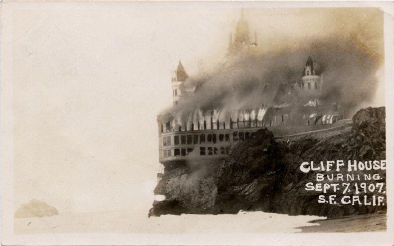 Дом на скале в Сан Фрациско (13 фото)