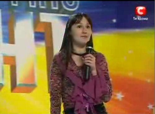 Оксана Самойлова - новая звезда украинской эстрады? (6.5 мб)