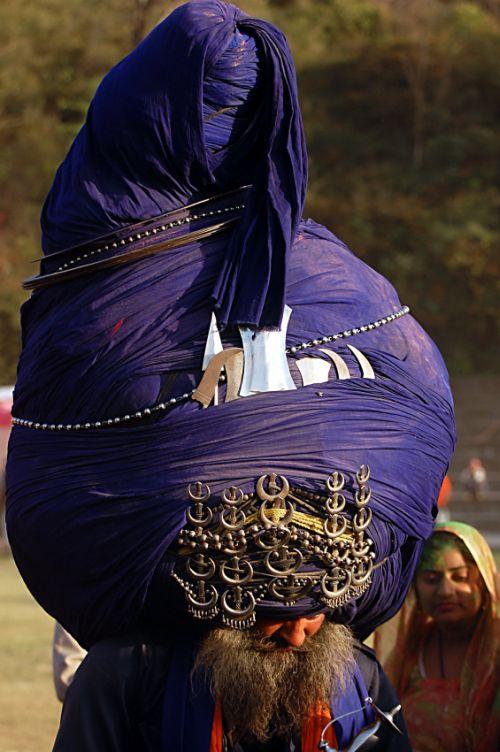 Самые большие тюрбаны (13 фото)