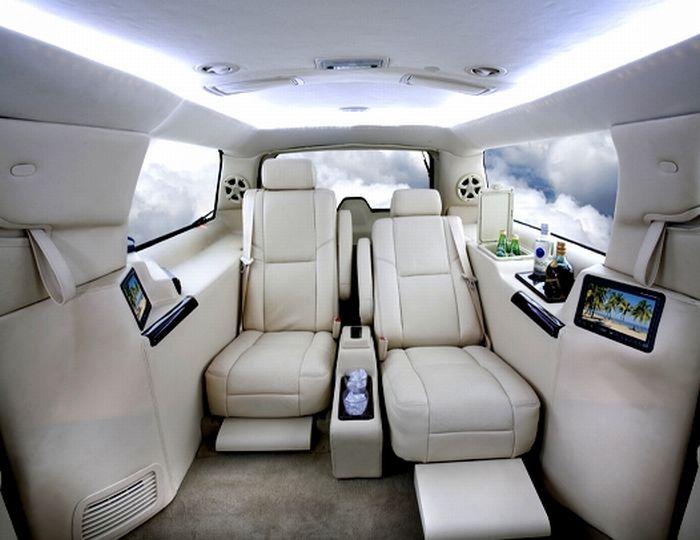 Что такое классный лимузин (4 фото)