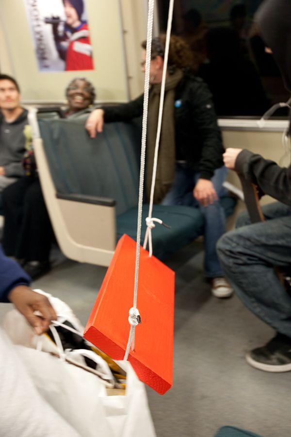 Флешмоб в метро Сан Франциско (10 фото)