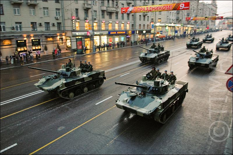 Репетиция парада в Москве (61 фото)