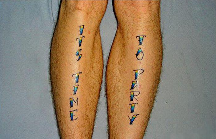 Худшие татуировки в мире (20 фото)