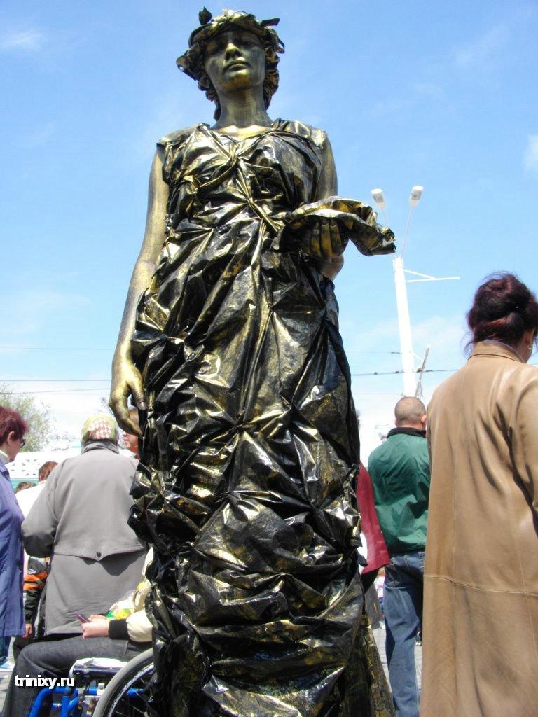 Чемпионат живых скульптур в Евпатории (57 фото)