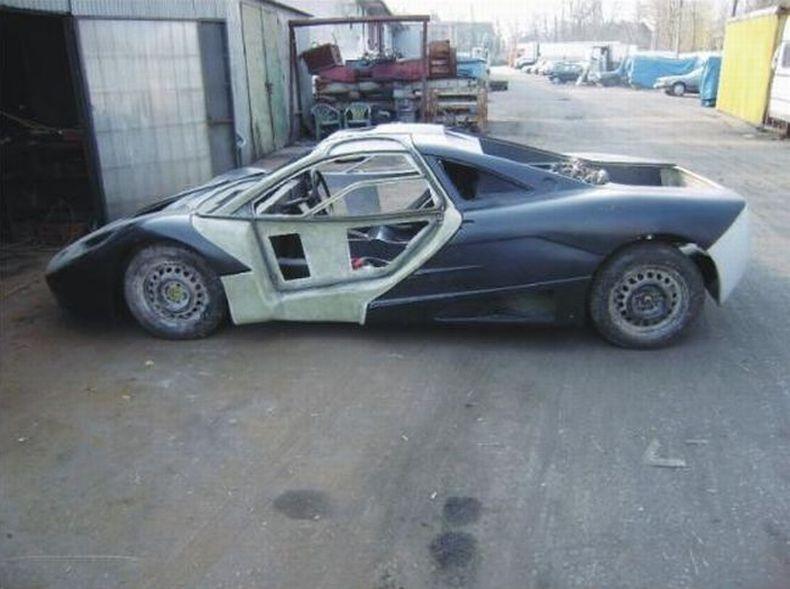 Самодельный суперкар McLaren F1 (56 фото)