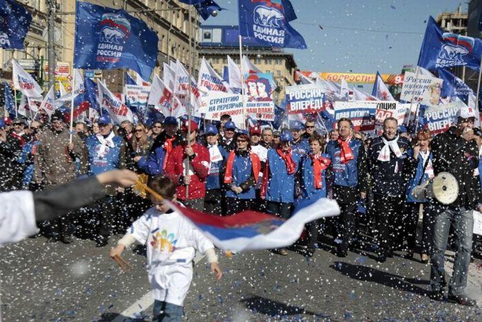 Первомай в России и мире (56 фото)