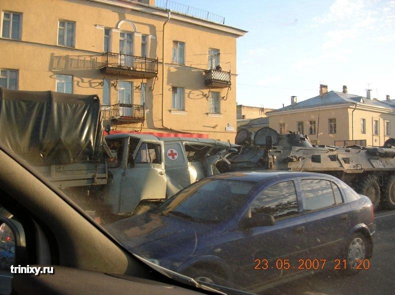 Самая удивительная авария (5 фото)