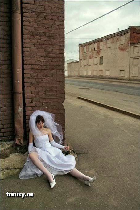 Смешные свадебные фотографии (100 фото) » Триникси