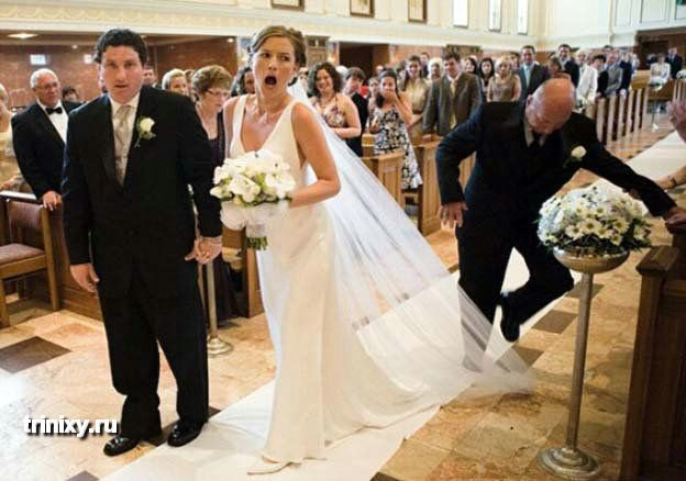 Смешные свадьбы (37 фото)