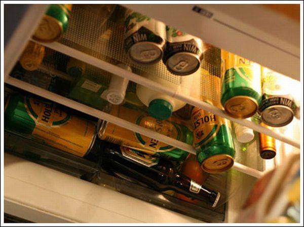 Холодильники холостяков (22 фото)