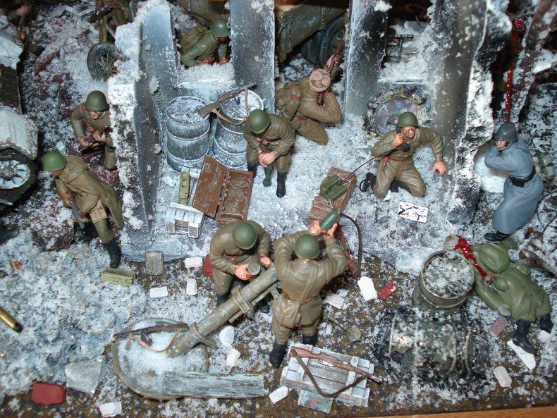 Сталинградская битва в миниатюре (37 фото)