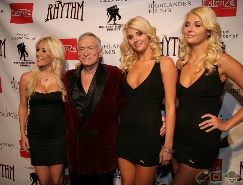 Патриотическая вечеринка Playboy (20 фото)