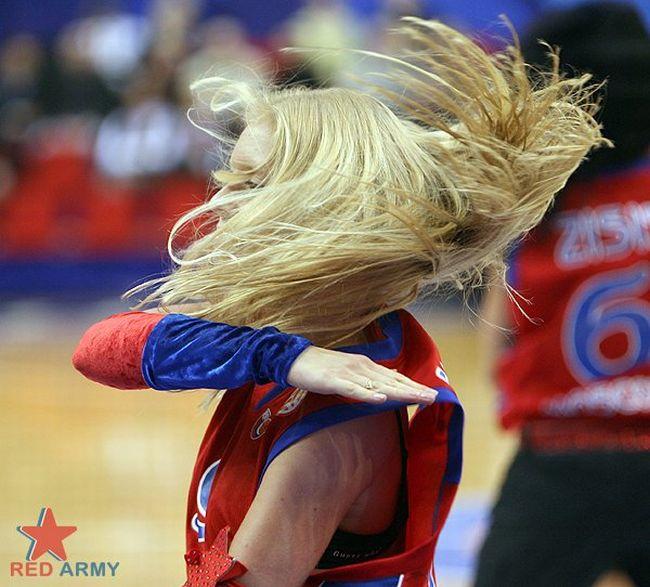 Девушки из группы поддержки баскетбольной команды ЦСКА (76 фото)