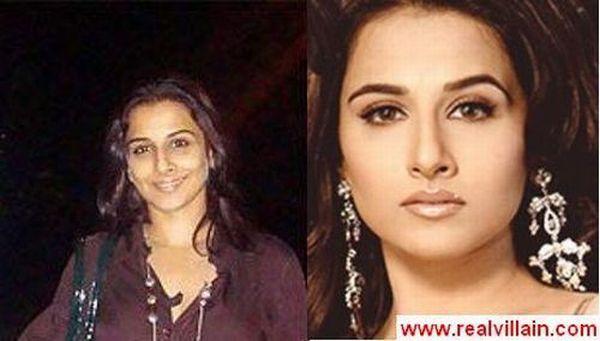 Как выглядят индийские актрисы без макияжа