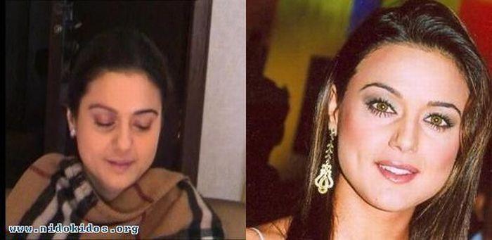 индийские актрисы фото без макияжа
